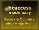 .htaccess security