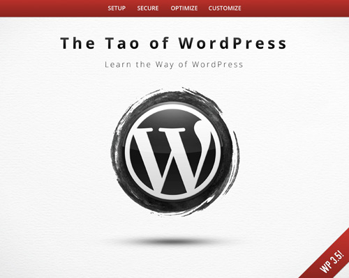 The Tao of WordPress